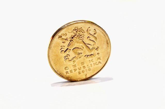 lev na minci