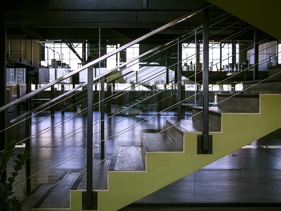 schody a zábradlí